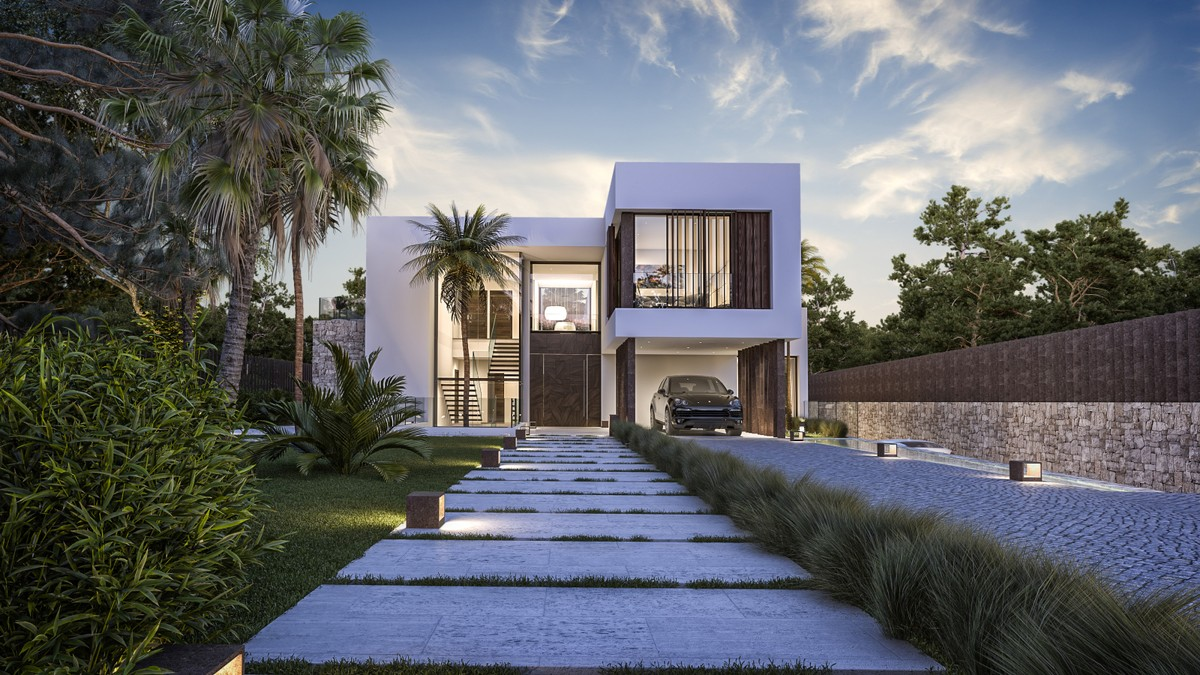New development House in Guadalmina Baja