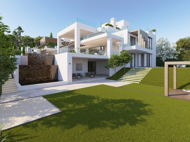 VILLA IN LOS FLAMINGOS – BENAHAVIS